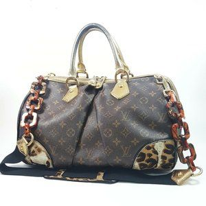 Auth Louis Vuitton Stephen Sprouse #N9193V53O